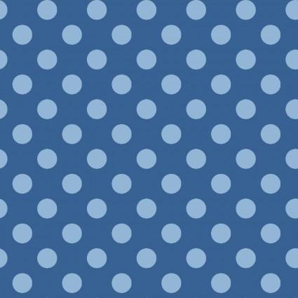 KimberBell Basics Blue Dots