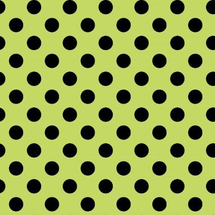 Broomhilda's Bakery - Green/Black Dots
