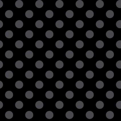KimberBell Basics Black/Grey Dots