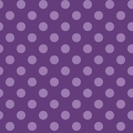 MAS8216 KimberBell Basics Purple Large Purple Dot