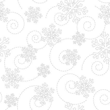 Kimberbell Whites Snowflake