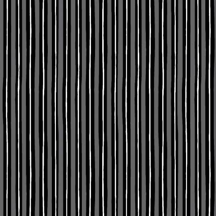 KimberBell Basics-Little Stripe-Gray