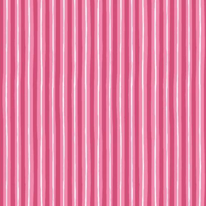 KimberBell Basics: Little Stripes - Pink
