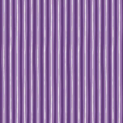 KimberBell Basics-Little Stripe-Purple