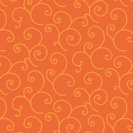 Orange Scroll - KimberBell Basics