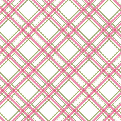 Kimberbell Basics Pink Plaid Fabric