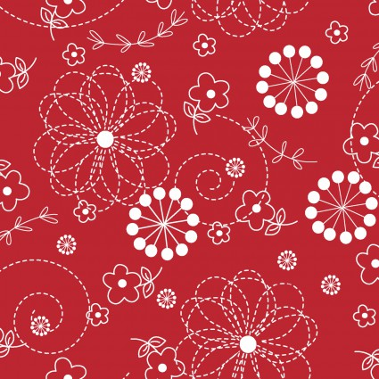 KimberBell - Doodles - Red