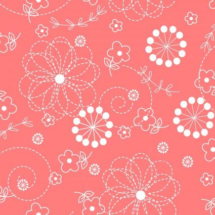Peachy Pink Doodles KimberBell Basics