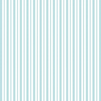 Kimberbell Basics Mini Awning Stripe Teal Fabric