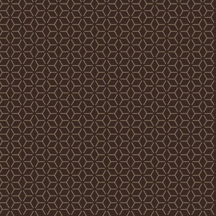 KimberBell Basics--Brown geometric