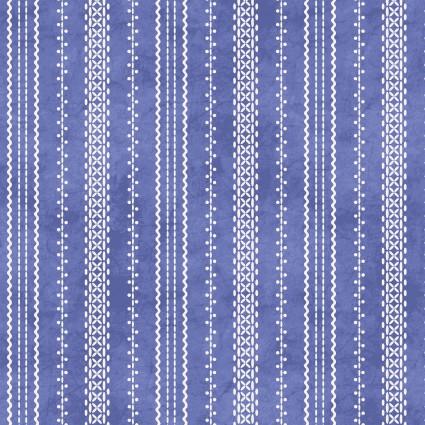 Roly-Poly Snowmen Stitch Stripe