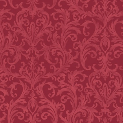 Maywood Roses on the Vine -Mauve/Burgundy Mas8436-R