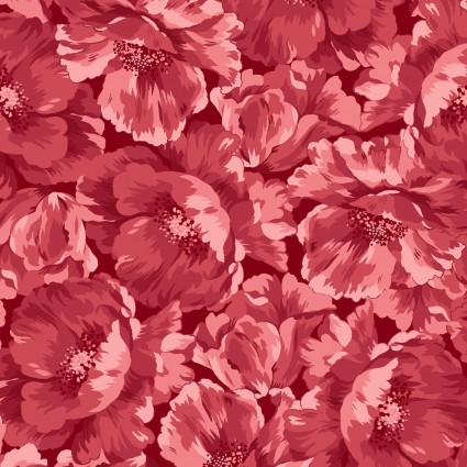Maywood Poppies Pink Poppies Pink Background MAS8782-R