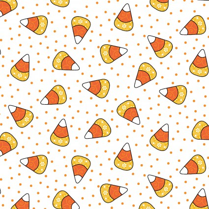 Broomhilda's Bakery Candy Corn on White