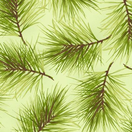 Poinsettia & Pine MAS9124-G