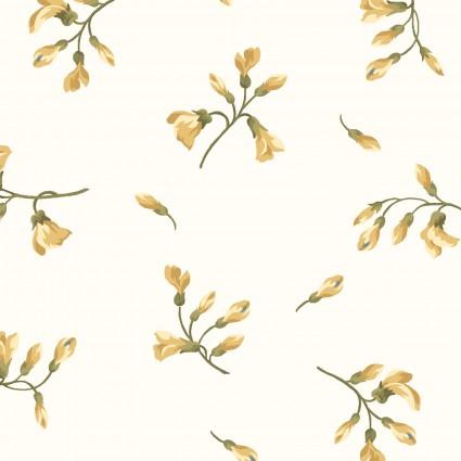 English Countryside Cream Floral MAS9165-E