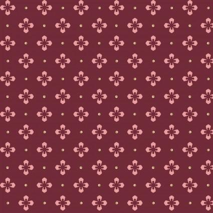 Burgundy & Blush Diamond Dots  Red /pink dots