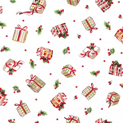 All the Trimmings Christmas Holiday Cotton Fabric Yardage