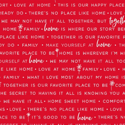 Kimberbell Red Home Phrases