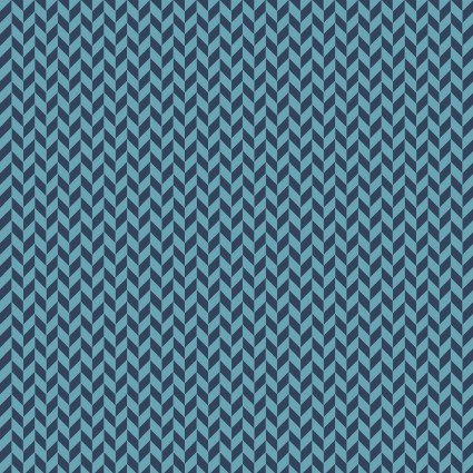 Q - Make Yourself at Home - Navy Herringbone Texture