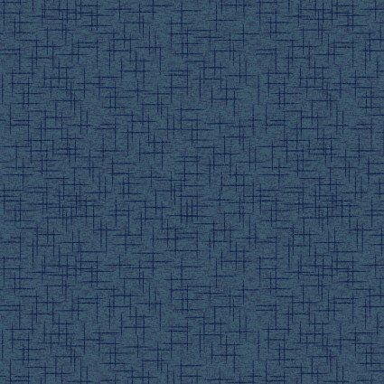Make Yourself at Home Linen Texture - Deep Navy