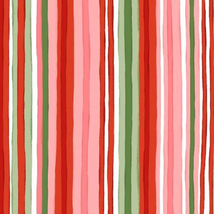 Prose - striped pink, green, & dk green