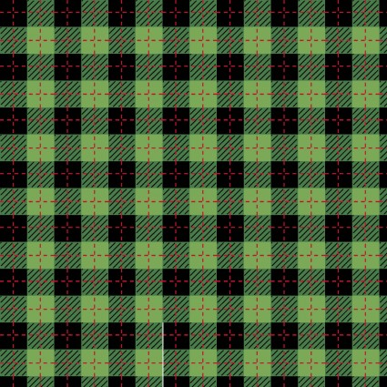 Buffalo Plaid Green