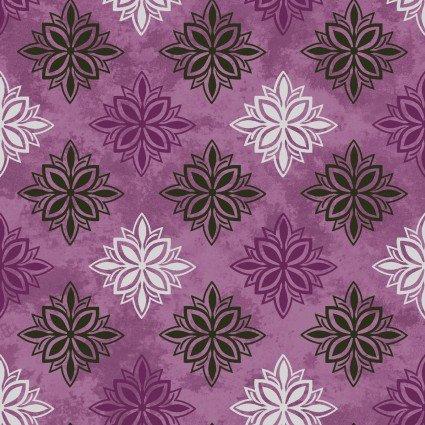 Amour Medallions Purple