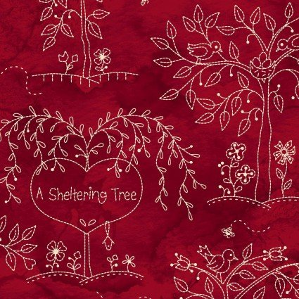 Sheltering Tree Main on Red