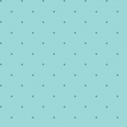 30's - Story Time - Teal petite Dots
