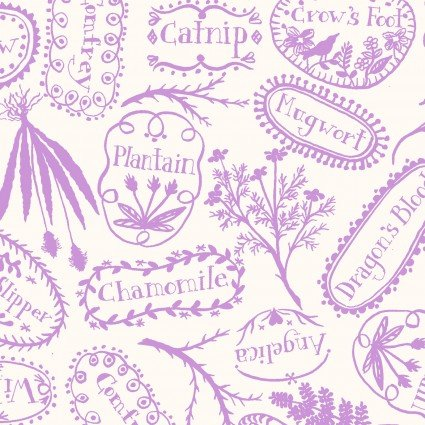 Spellcaster's Garden - Plant Markers - Purple