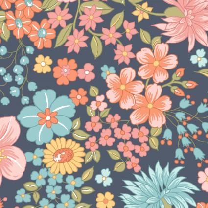 Sunlit Blooms MAS9841-N