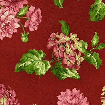 Lexington Medium Red Floral