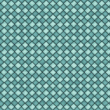 Happiness is Homemade Checkers Turquoise