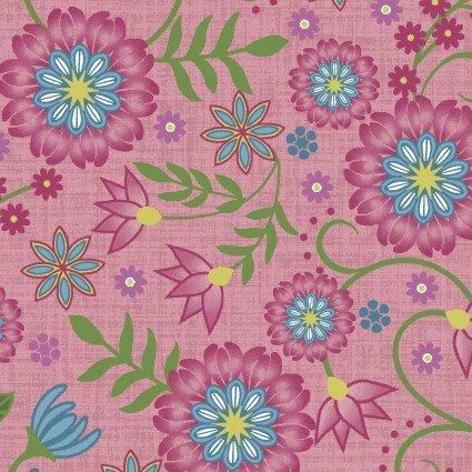Flower & Vine Carnation Pink Flowers