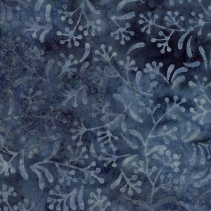 Java Batiks Blue Vine