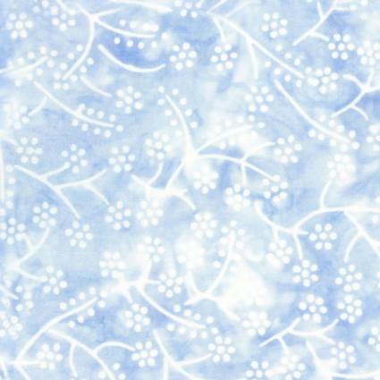 Bejeweled Batik Blue Tiny Flower