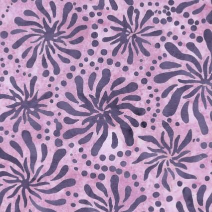 Color Therapy Batiks - Violet Mums