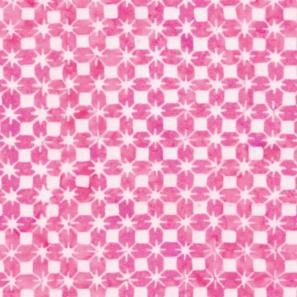 Color Therapy Batiks - Pink Stars
