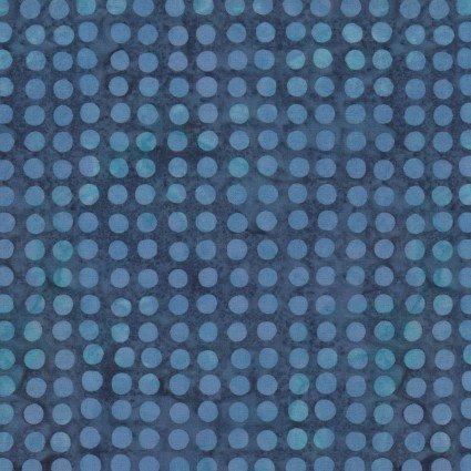 Color Therapy Batiks - Blue Dot