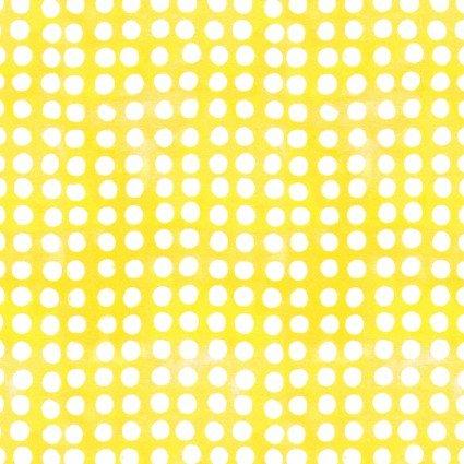 Color Therapy Batiks - Yellow Dot