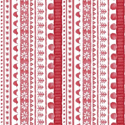Maywood Studio Warm Wishes MASD6314-R Sweater Stripe Digital Print