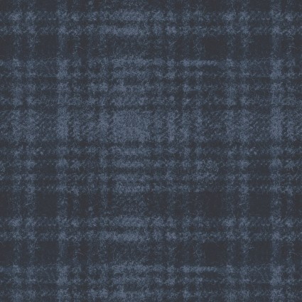 Woolies Flannel navy plaid