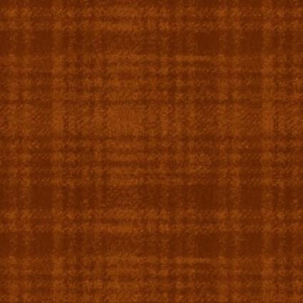 Woolies Flannel Cinnamon Plaid