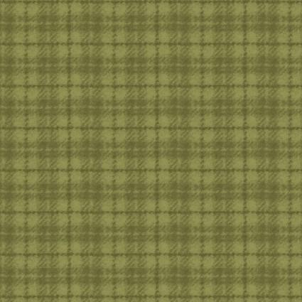 Woolies Flannel - Plaid - Lt Green