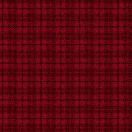 Woolies Flannel Plaid Red (FL10654)