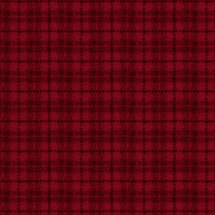 Woolies Flannel- Plaid Red