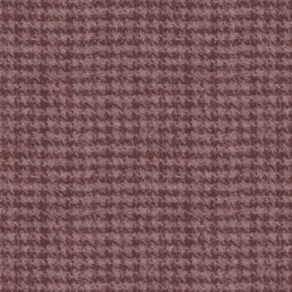 Woolies Flannel violet houndstooth