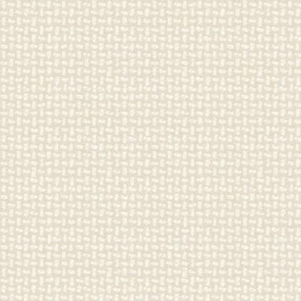 Woolies Flannel - Basket Weave - Cream