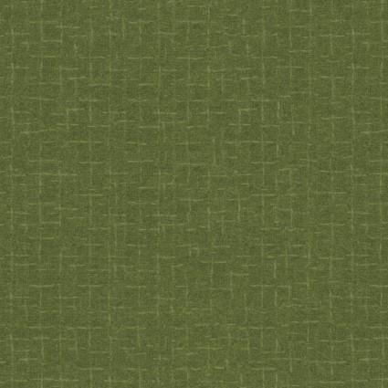 Woolies Flannel green tonal